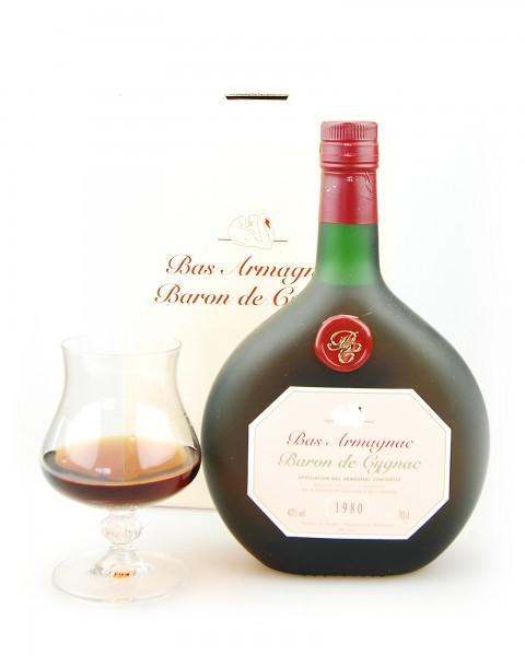 Armagnac 1980 Bas-Armagnac Baron de Cygnac