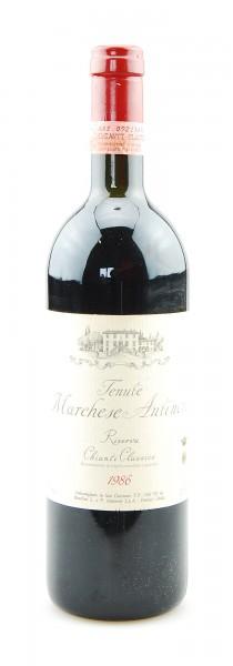 Wein 1986 Chianti Classico Riserva Marchese Antinori