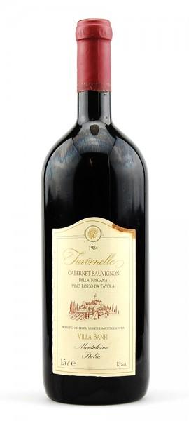 Wein 1984 Tavernelle Cabernet Sauvignon Banfi MAGNUM