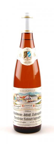 Wein 1980 Edenkobener Schloß Ludwigshöhe Kabinett