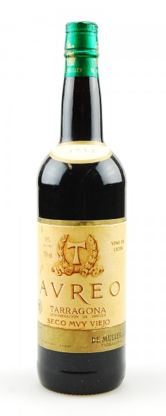 Wein 1953 De Muller AUREO Semi Dulce muy Vieho