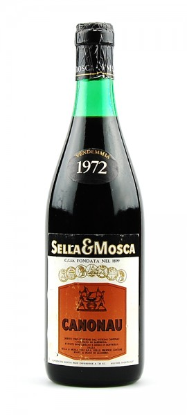 Wein 1972 Canonau Sella e Mosca