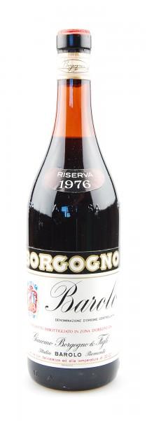 Wein 1976 Barolo Riserva Giacomo Borgogno