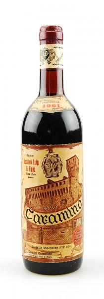 Wein 1961 Caramino Luigi Dessilani