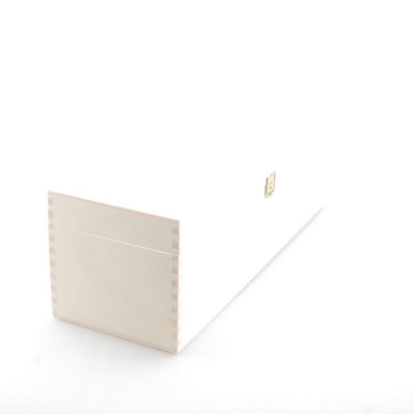 Holzkassette für Sekt oder Wein im Sonderformat