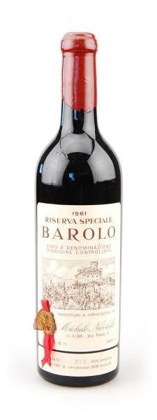 Wein 1961 Barolo Riserva Speciale Nicolello