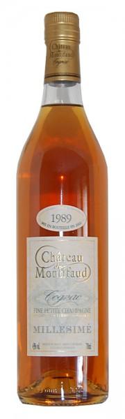 Cognac 1989 Chateau Montifaud Petite Champagne
