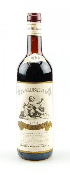 Wein 1966 Barolo Giorgio Barbero