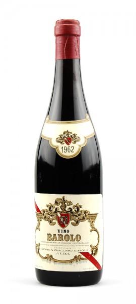Wein 1962 Barolo Giacomo Morra