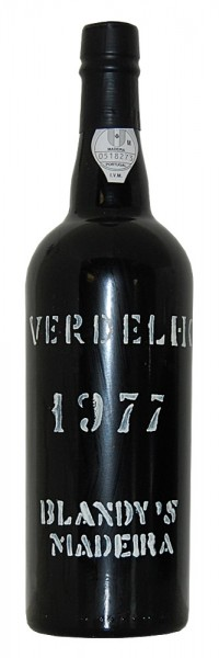 Madeira 1977 Blandy's Verdelho