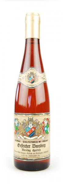 Wein 1971 Oestricher Doosberg Riesling Spätlese