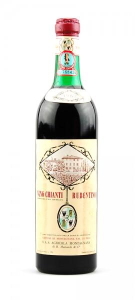 Wein 1967 Chianti Montagnana Rubentino