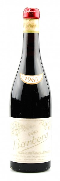 Wein 1965 Barbera Mascarello