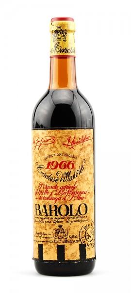 Wein 1966 Barolo Marchese Villadoria