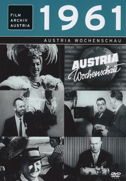 DVD 1961 Chronik Austria Wochenschau in Holzkiste