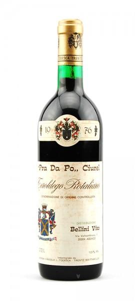 Wein 1976 Teroldego Rotaliano Bellini