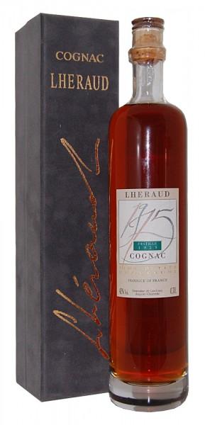 Cognac 1975 Lheraud Fine Petite in edler Samtbox