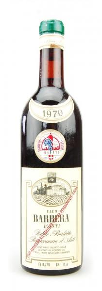 Wein 1970 Barbera d´Asti Podere Borlotto