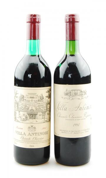 Wein 1981 Chianti Classico Riserva Villa Antinori