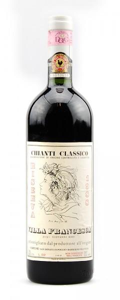 Wein 1988 Chianti Classico Villa Francesca Riserva