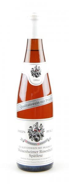 Wein 1981 Weisenheimer Rosenbühl Spätlese