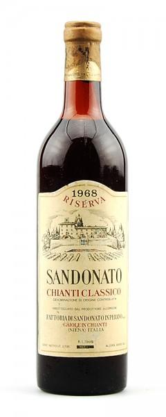 Wein 1968 Chianti Classico Riserva San Donato