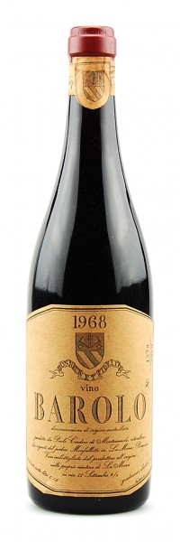 Wein 1968 Barolo Montezemolo podere Monfalletto
