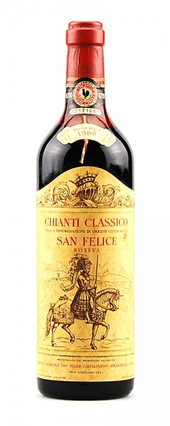 Wein 1968 Chianti Classico Riserva San Felice