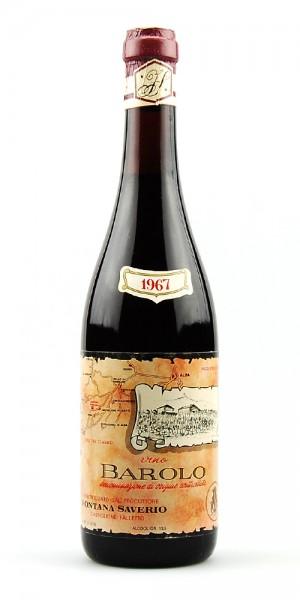 Wein 1967 Barolo Saverio Fontana