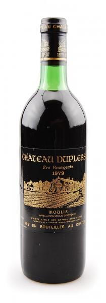 Wein 1979 Chateau Duplessis Cru Bourgeois