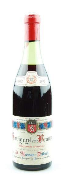 Wein 1972 Savigny-les-Beaune Masson-Dubois