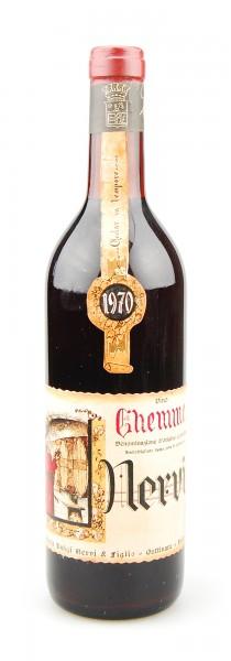 Wein 1970 Ghemme Casa Vinicola Luigi Nervi