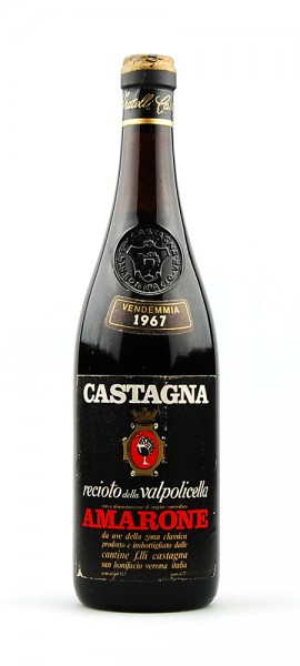 Wein 1967 Amarone Recioto della Valpolicella Castagna