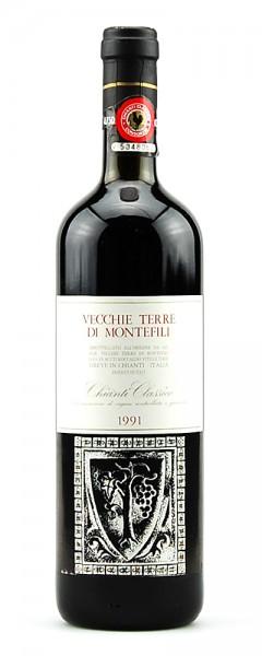 Wein 1991 Chianti Classico Vecchie Terre di Montefili
