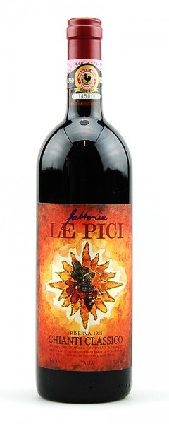 Wein 1988 Chianti Classico Fattoria Le Pici Riserva