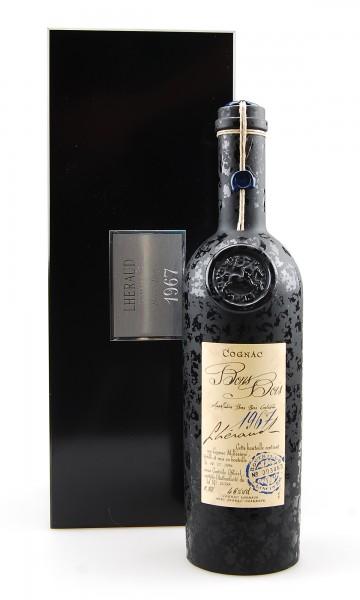 Cognac 1967 Lheraud Bons Bois in Holzkiste