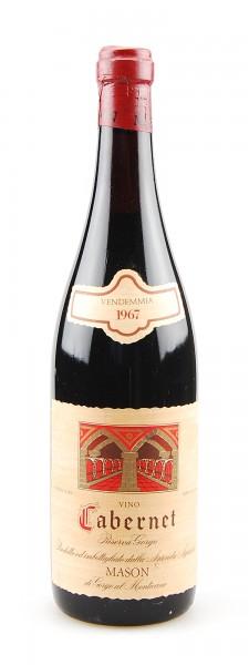 Wein 1967 Cabernet Riserva Mason di Gorgo al Monticano