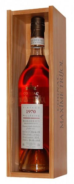 Cognac 1970 Maxime Trijol Borderies