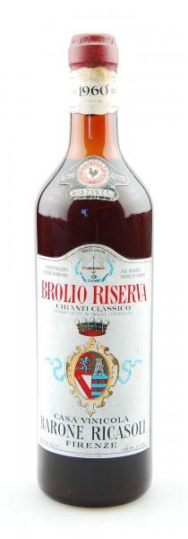 Wein 1960 Chianti Classico Riserva Brolio Ricasoli