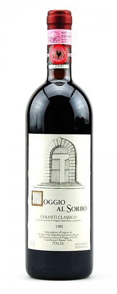 Wein 1991 Chianti Classico Poggio al Sorbo