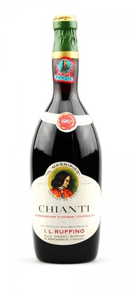 Wein 1967 Chianti Ruffino Il Magnifico