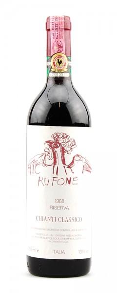 Wein 1988 Chianti Classico Querce Sola-Rufone