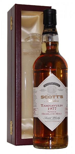 Whisky 1977 Tamnavulin Single Highland Malt Whisky