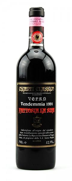 Wein 1991 Chianti Classico Fattoria La Ripa