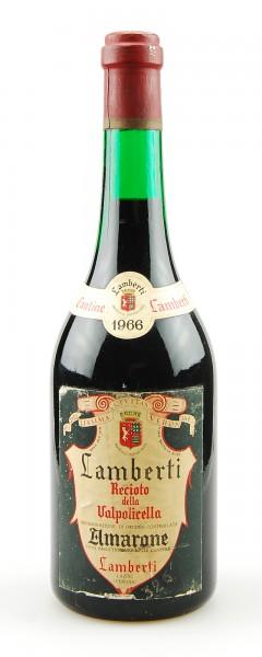 Wein 1966 Amarone Recioto della Valpolicella Lamberti