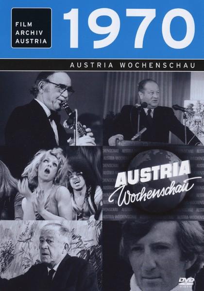 DVD 1970 Chronik Austria Wochenschau in Holzkiste