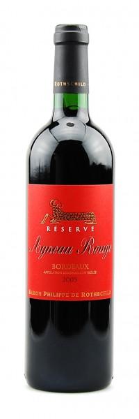 Wein 2005 Agneau Rouge Baron Philippe de Rothschild