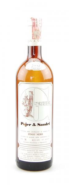 Grappa 1984 Pinot Nero Pojer & Sandri