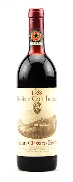 Wein 1968 Chianti Classico Riserva Badia a Coltibuono
