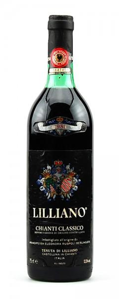 Wein 1981 Chianti Classico Tenuta di Lilliano